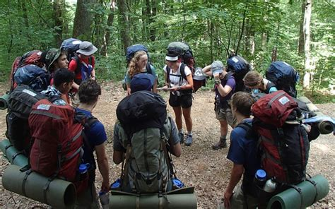 outdoor education training   blue ridge mountains