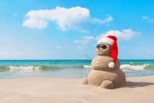 santa on a surfboard on the other side of the globe internations