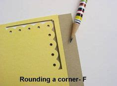 crafty boarder punch ideas images card making