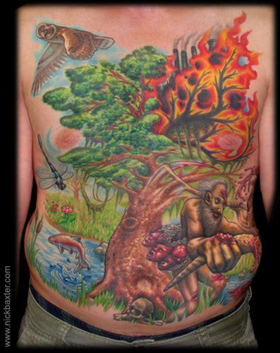 deep forest tattoo tattoo lawas