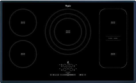 piano cottura incasso 90 cm piano cottura induzione whirlpool 5 fuochi 90 cm acm 795