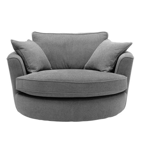 Circle Loveseat by Heal S Waltzer Swivel Loveseat Bocaccio Fabric