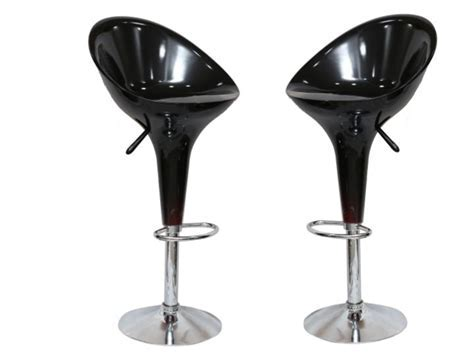 TN/HJ BLACK BAR STOOL (Set of 2) Furniture Online   Buy
