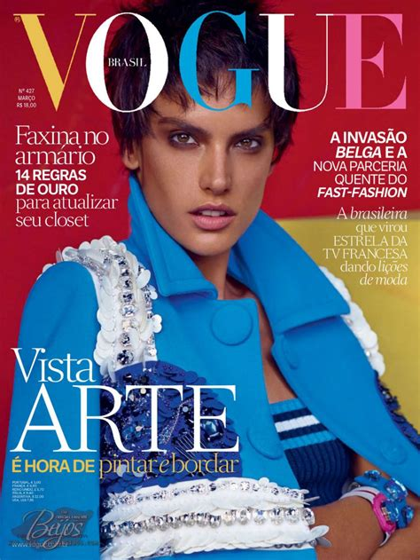 Alessandra Ambrosio – Vogue Magazine (Brasil) - March 2014 ...