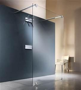 Paroi Douche Verre Sablé : paroi tout verre pour douche l italienne ~ Premium-room.com Idées de Décoration