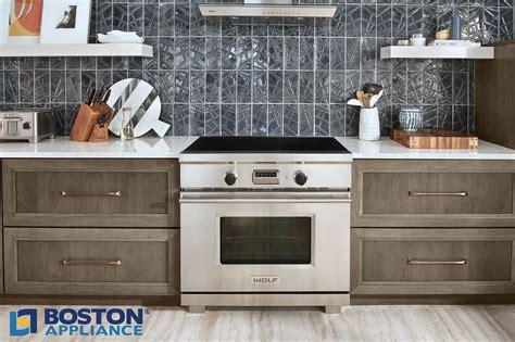 "The Wolf 36"" Transitional Induction Range  Boston Appliance"