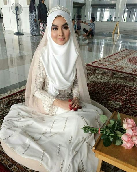 ideas  hijab bride  pinterest wedding