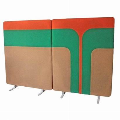 Wall Mid Century Panels Divider Mod Chairish