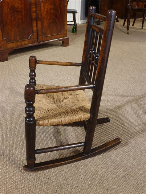 childs antique rocking chair antique childs chair