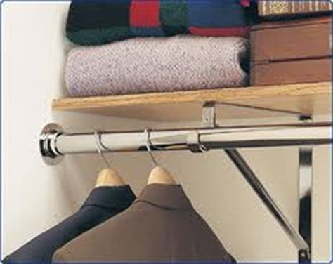 Handyman, Is Wood or Metal Better for Closet Rods?