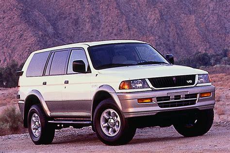 mitsubishi montero sport 1997 04 mitsubishi montero sport consumer guide auto