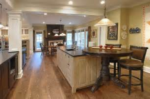 kitchen island with table extension 10 ways to rev your kitchen island