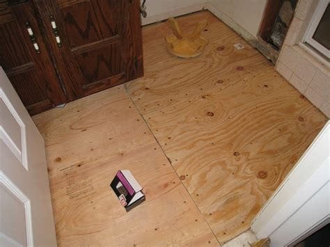 I was planning on using glue and screws since i do not have a nail gun. Retiling the Bathroom