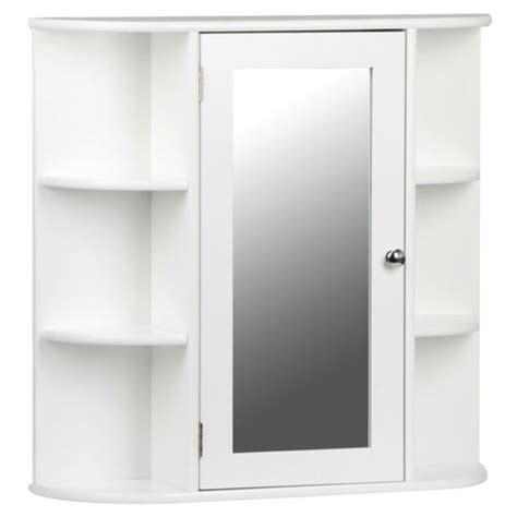 White Mirrored Bathroom Wall Cabinet by White Wooden Mirrored Bathroom Cabinet Wall Mounted