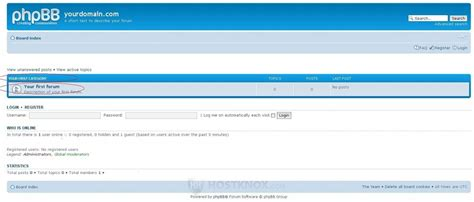 Phpbb3 Categories And Forums Tutorial
