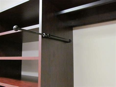 laundry room valet rod simple home decoration