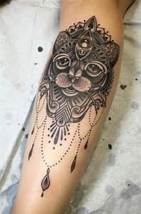 Tatouage Avant Bras Femme Mandala : tatouage chat signification emplacement et mod les en ~ Melissatoandfro.com Idées de Décoration