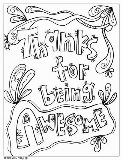 Principal Coloring Appreciation Teacher Pages Week Nurse