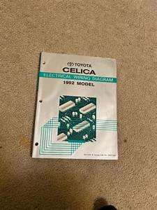 1992 Toyota Celica Electrical Wiring Diagram