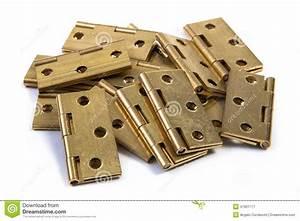 Scharniere Für Türen : scharniere f r t ren goldener messing auf wei stockfoto bild 47901777 ~ Sanjose-hotels-ca.com Haus und Dekorationen