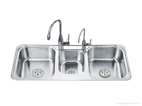Triple basin kitchen sink   OD 11048B   OUERT (China