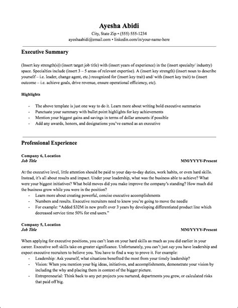 5 Years Experience Resume Format - Database - Letter Templates