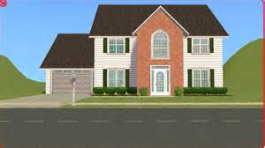 houses with 4 bedrooms sims 2 lot downloads 4 bedroom family house