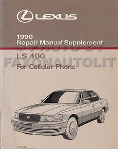 1990 Lexus Ls 400 Wiring Diagram Manual Original