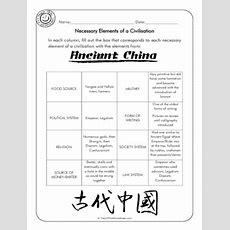 Ancient China Worksheets  Ancient China  Pinterest  Ancient China And Worksheets