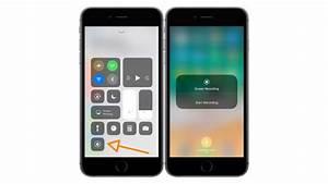 iOS 11 propose la capture vidéo de l'écran sur iPhone & iPad