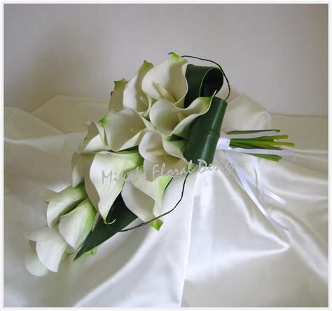 silk flowers for wedding artificial wedding flowers and bouquets australia real touch calla arm sheaf bouquets and