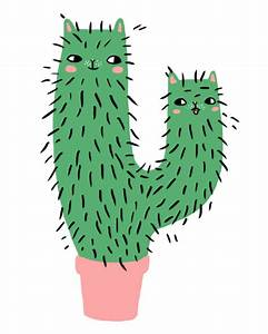 Pics For > Cute Cactus Drawing