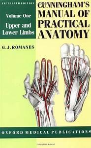 Cunningham U0026 39 S Manual Of Practical Anatomy  Volume I 15th