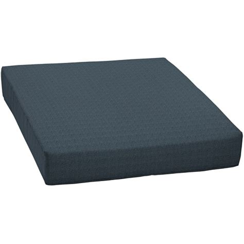 seat outdoor seat cushion navy and woven