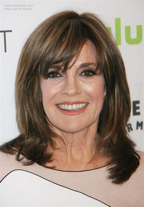 linda grays youthful appearance hairstyle  takes