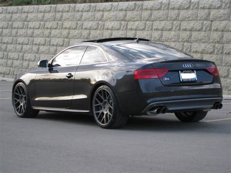 black audi 2013 audi rs5 black wallpaper 1024x768 28604