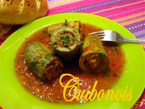 recette de courgettes farcies à l 39 algérienne
