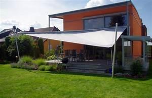 Aufrollbare sonnensegel hohmann sonnenschutz for Sonnensegel terrasse wasserdicht