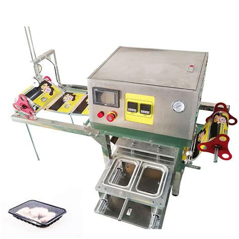 semi automatic plastic tray sealer machineautomatic tray sealersemi automatic cup sealer
