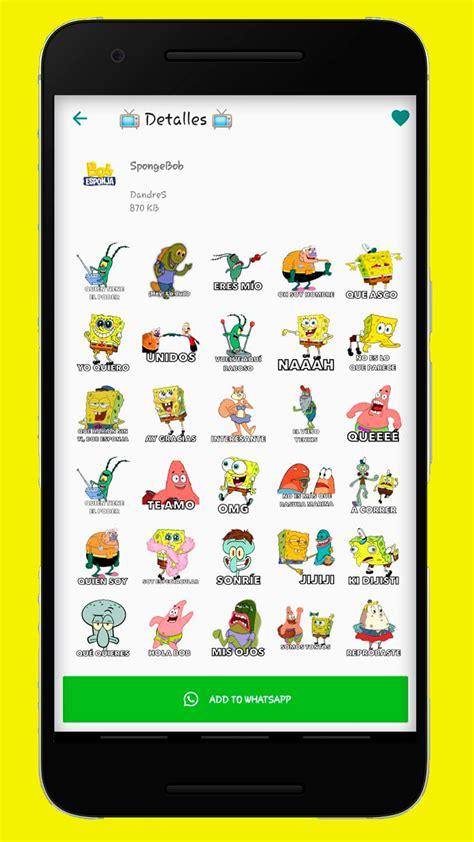 Inspirasi Stiker Wa Spongebob Bacot