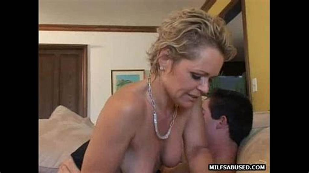 #Blonde #Milf #With #Short #Hair #Sucks #Cock #Before #Getting