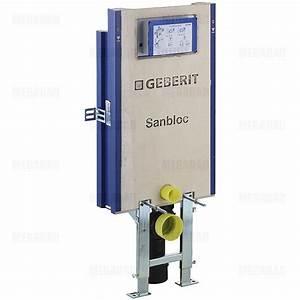 Wc Spülung Geberit : geberit sanbloc baustein f r wand wc 112 cm ~ Michelbontemps.com Haus und Dekorationen