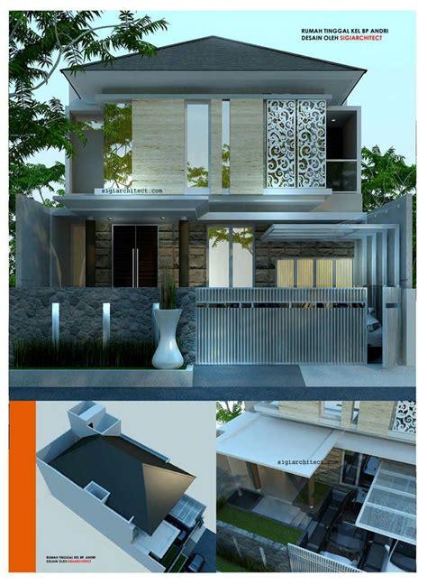 desain rumah modern minimalis lantai bandung jabar