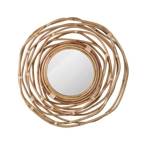 miroir en rotin miroir en rotin kubu 216 75 cm de la marque dutchbone drawer fr