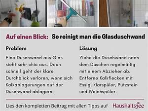 Kalkflecken Auf Glas : kalk glasduschwand richtig reinigen glasduschwand richtig putzen und glas ~ Watch28wear.com Haus und Dekorationen