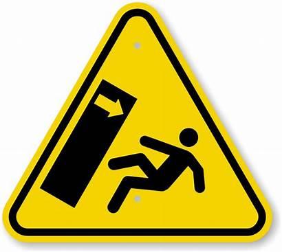 Hazard Crush Sign Symbol Iso Warning Tip