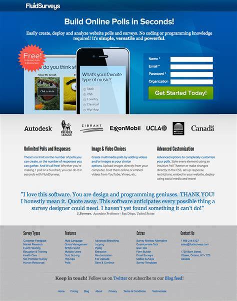 web design landing page 35 beautiful landing page design exles to drool
