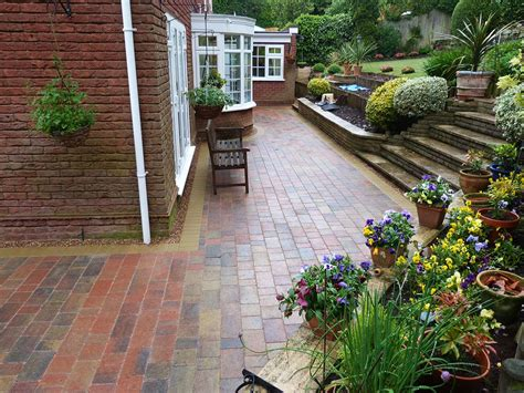 Patio In The Garden by Garden Landscapers Solihull Landscaping Midlands