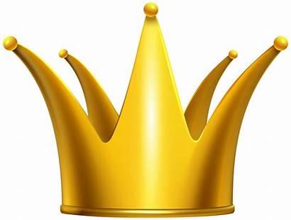 Crown Clipart Golden Gold Clip Crowns Sash