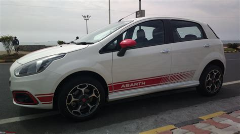 Fiat Scorpion by The White Scorpion Fiat Abarth Punto Team Bhp